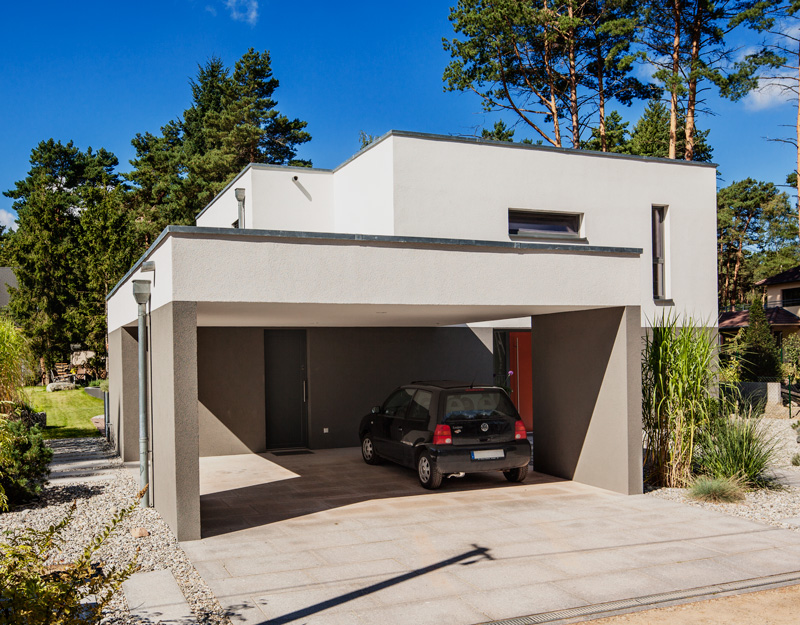 carport oder garage das f r und wider von zwei anbaukonzepten baumeister haus e v. Black Bedroom Furniture Sets. Home Design Ideas